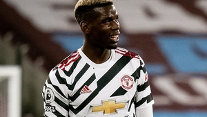 Paul Pogba scored his first goal since September in Manchester United's win at West Ham