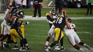 The Steelers' weak run game and over-reliance on the arm of quarterback Ben Roethlisberger caught up with them at Heinz Field on Monday night