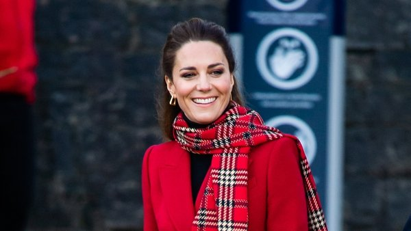 Kate can certainly rock tartan, like in this outfit from December 2020.
