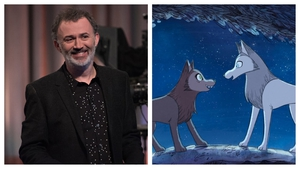"""Ross Stewart: """"Tommy Tiernan was perfect asSean Óg and we had him in mind as the 'wild Irish man' from early on."""""""