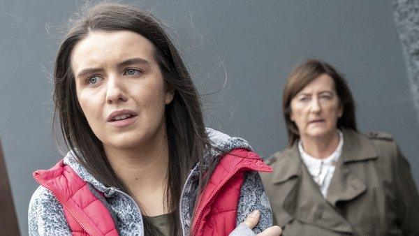 Garda O' Shea really has doubts about Briain when she sees how scared Sorcha is of him