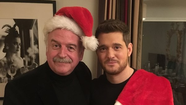 The man on the right is responsible for 13% of Spotify's most popular Christmas songs. The man on the left is a national treasure.