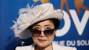 Yoko Ono called for an end to gun violence in the US