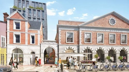 Martin Keane's planned a 'Covent Garden' style market and hotel scheme for the site