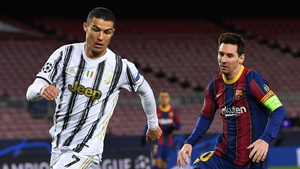 Ronaldo's Juve got the better of Messi' Barca