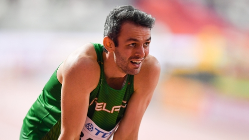 Thomas Barr is not getting distracted ahead of the Tokyo Games