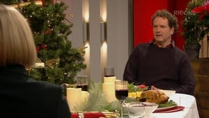 Diarmuid Gavin discussing Christmas Dinner on Claire Byrne Live
