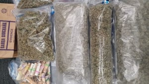 Gardaí said cannabis herb worth approximately €90,000 was seized