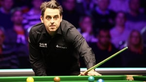 O'Sullivan made breaks of 78 and 134 on his way to setting up a third-round date with Tian Pengfei at Milton Keynes