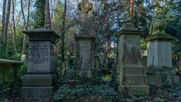 Highgate Cemetery attracts around 100,000 visitors annually