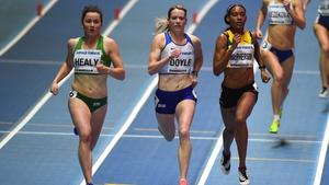 Phil Healy of Ireland at the 2018 IAAF World Indoor Championships