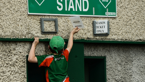 Mayo fans, along with supporters of the other All-Ireland finalists, will not be attending matches