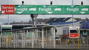 Holyhead is the second busiest roll-on/roll-off freight port in the UK