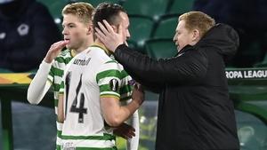 David Turnbull scored the winner against Lille to put a smile on the face of beleaguered Celtic boss Neil Lennon