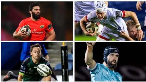Munster, Ulster, Connacht and Leinster have their sights set on a quarter-final spot