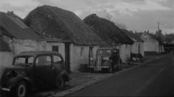 Pound Road in Castleisland, County Kerry, 1966.