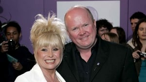 Barbara Windsor pictured with her on-screen son and off-screen friend Steve McFadden
