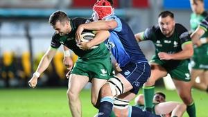 Ireland international Jack Carty starts at out-half