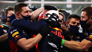 Max Verstappen puts Red Bull on pole