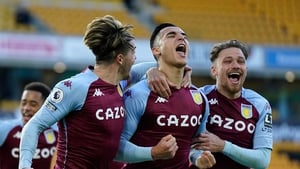 Anwar El Ghazi scored a late penalty to hand Aston Villa victory at Molineux