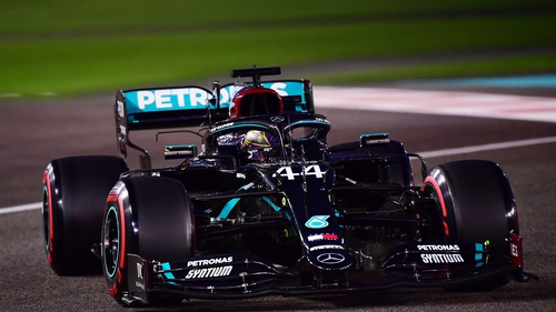 Lewis Hamilton is seeking to become the first driver to win eight world titles