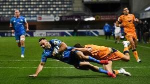 Dave Kearney scored Leinster's third