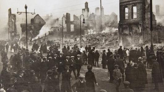 The Burning of Cork