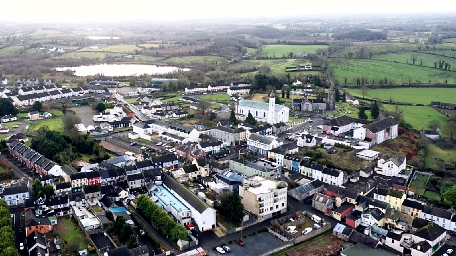 Image - Belturbet is located just south of the border with Northern Ireland