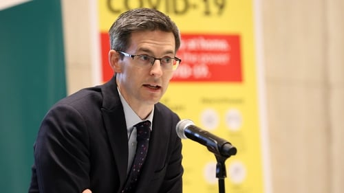 Dr Ronan Glynn said the high number of deaths is aconsequence of the very significant increase in cases
