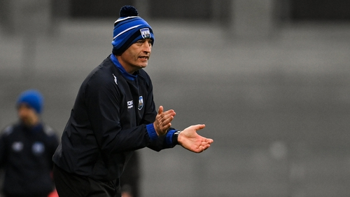 Waterford manager Liam Cahill watches on during the All-Ireland hurling final