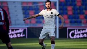 Cristante pronounced a blasphemous expression in the 23rd minute of the first half