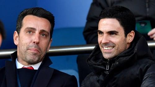 "Edu feels Arsenal ""are doing well"" under Arteta"