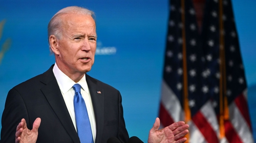 Joe Biden will be inaugurated as the 46th US president on 20 January