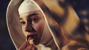Aisling Franciosi as Sister Ruth in Black Narcissus