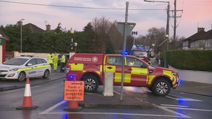 Emergency services described the fire as a hazard chemical incident