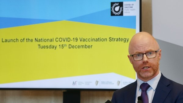 Minister Stephen Donnelly said 'today is a really positive day for all of us'