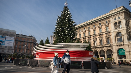 The Italian government is considering more stringent nationwide rules for the Christmas and New Year holidays