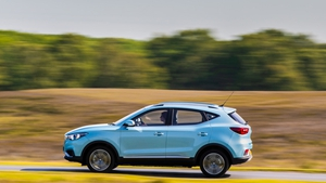 The MG ZS electric crossover has a claimed range of 263 kilometres.