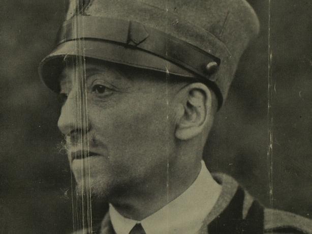 Gabriele D'Annunzio Photo: Illustrated London News, 1 January 1921