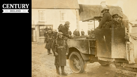 Century Ireland Issue 195 - Military carrying out reprisal in Meelin, National Library of Ireland (HOG156)