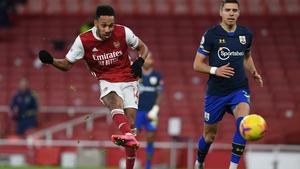Pierre-Emerick Aubameyang has missed Arsenal's last two games