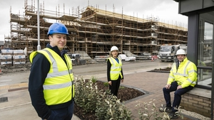 Stephen Garvey, CEO of Glenveagh Properties (pictured on left) said the company was confident about the country's economic prospects and demand for housing