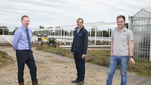 (from left to right) Matthew Kehoe from Gas Networks Ireland, William Flynn, owner and director of MF Nurseries and Martin Flynn, owner and director of MF Nurseries