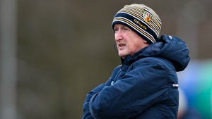 Dominic McKinley has previously managed the Derry and Antrim hurlers