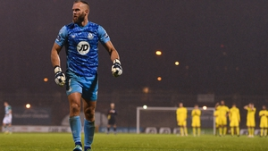 Alan Mannus proved the hero in the Europa League penalty shoot-out against Ilves