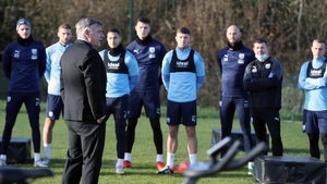 Sam Allardyce addresses his new charges for the first time on Thursday