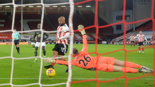 David McGoldrick scored after just five minutes for Sheffield United