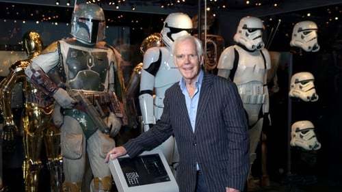 Jeremy Bulloch pictured at a Star Wars exhibition in London in July 26, 2017
