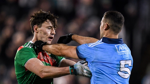 Diarmuid O'Connor and James McCarthy get to know one another earlier this year