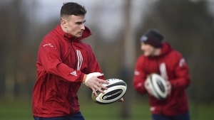 Shane Daly starts on the wing for Munster